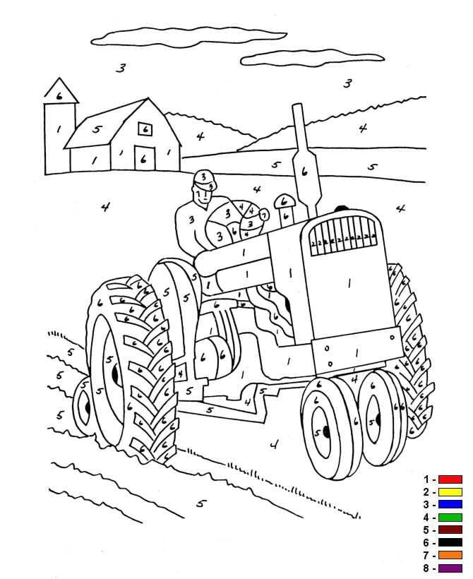 Kleurplaten Kleuren Op Nummer.Kids N Fun Kleurplaat Kleur Op Nummer Boerderij Kleur Op Nummer