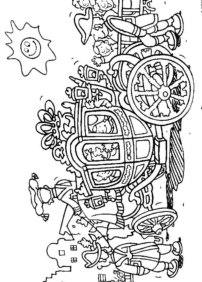 Koningsdag Kroon Kleurplaat Kids N Fun 14 Kleurplaten Van Koninginnedag