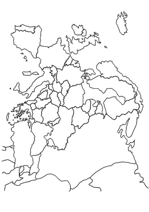 kleurplaten landen europa