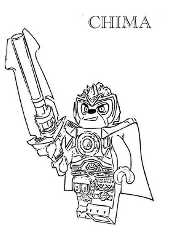 Lego Chima Kleurplaat - ARCHIDEV
