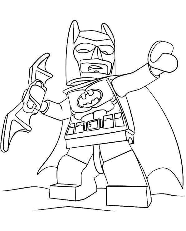 Kids-n-fun | 16 Kleurplaten van Lego Batman Film