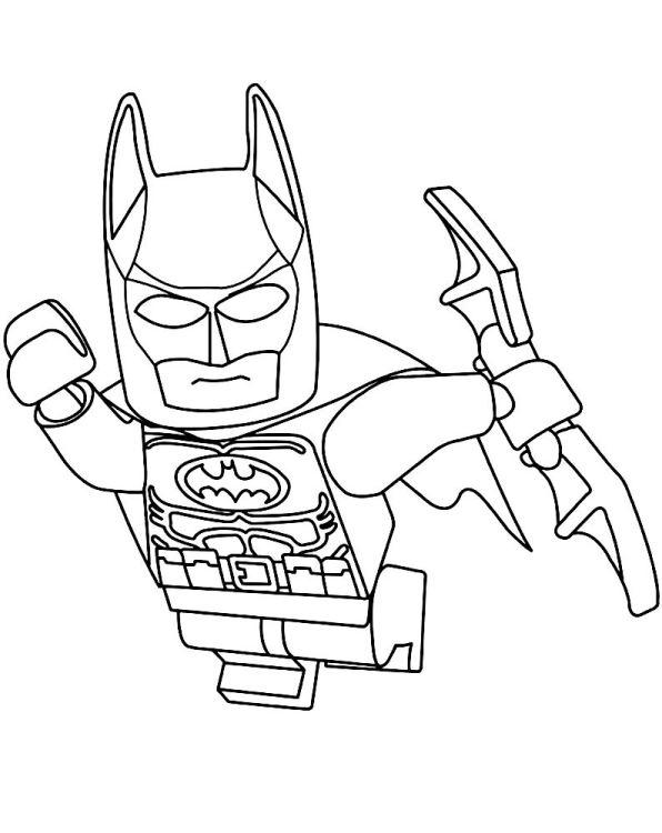 Kleurplaten Lego Film.Kids N Fun Kleurplaat Lego Batman Film Lego Batman 3