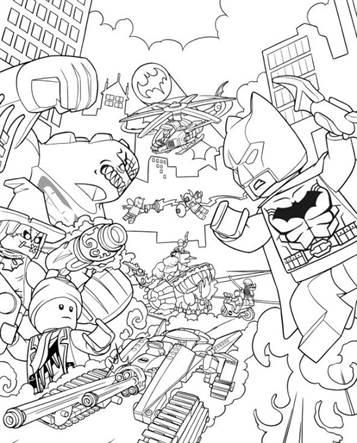 Kleurplaten Lego Flash.Kids N Fun 16 Kleurplaten Van Lego Batman Film
