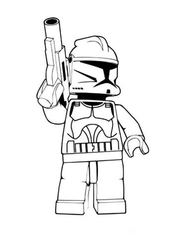 Kleurplaten Lego Star Wars 3.Kids N Fun 28 Kleurplaten Van Lego Star Wars