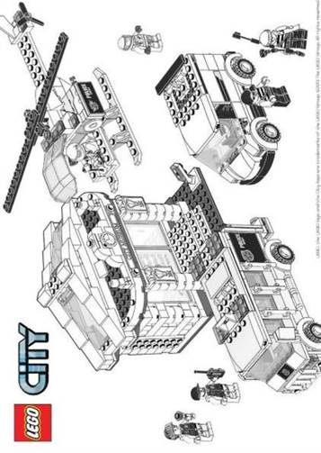 ausmalbilder lego city ideen
