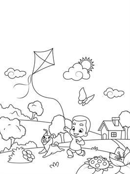 Eenvoudige Kleurplaten Lente.Kids N Fun 22 Kleurplaten Van Lente Kids