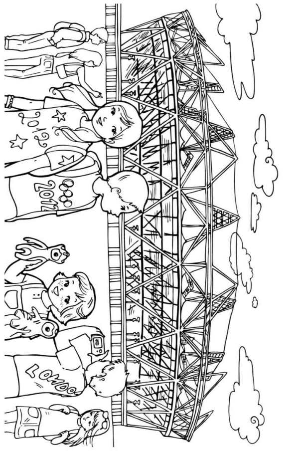 london olympics logo coloring pages - photo#37