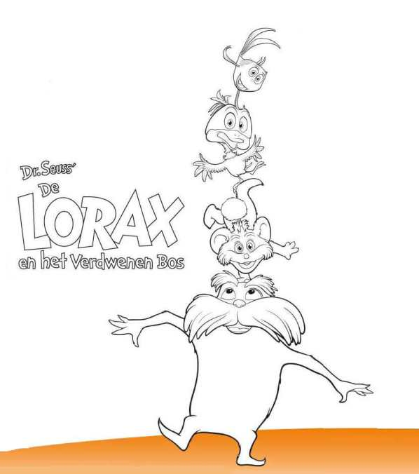 Charmant Dr Seuss Lorax Malvorlagen Ideen - Dokumentationsvorlage ...