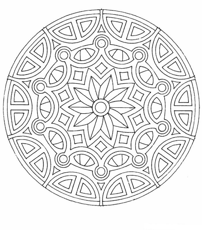 free coloring pages of mandalas - photo#42