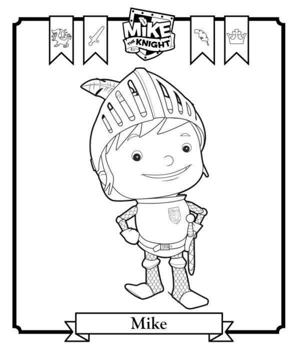 Kids N Fun 6 Kleurplaten Van Mike De Ridder