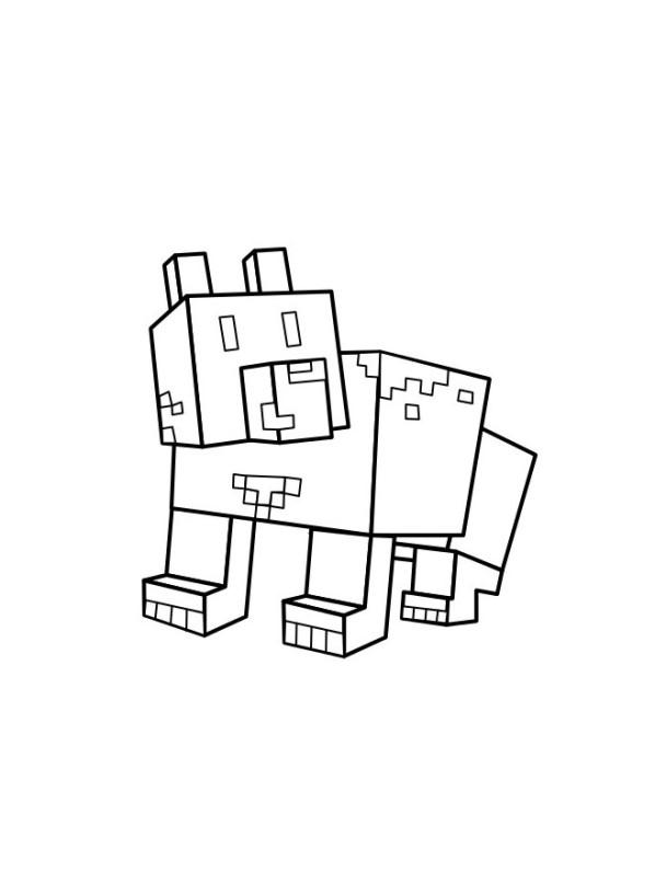 Kids N Fun 19 Kleurplaten Van Minecraft