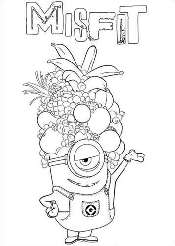 Minions Kleurplaten Van Bob.Kids N Fun 36 Kleurplaten Van Minions
