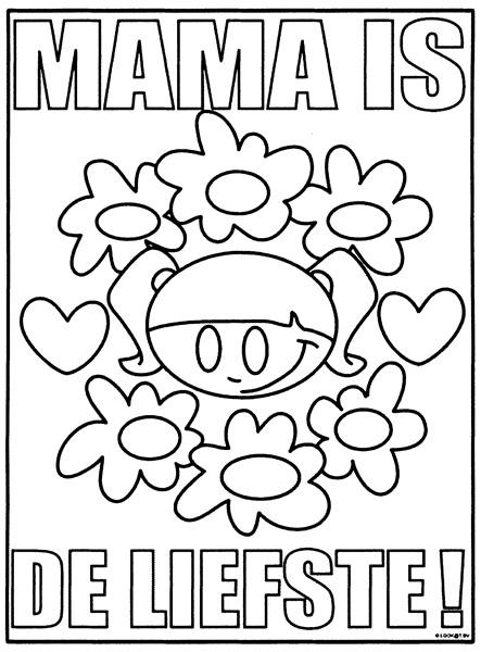 Kleurplaten Verjaardag Mama.Beroemd Kleurplaat Verjaardag Mama Uw27 Belbin Info