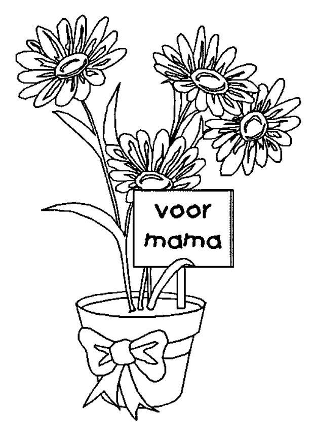 Kleurplaten Verjaardag Mama 40 Jaar Archidev