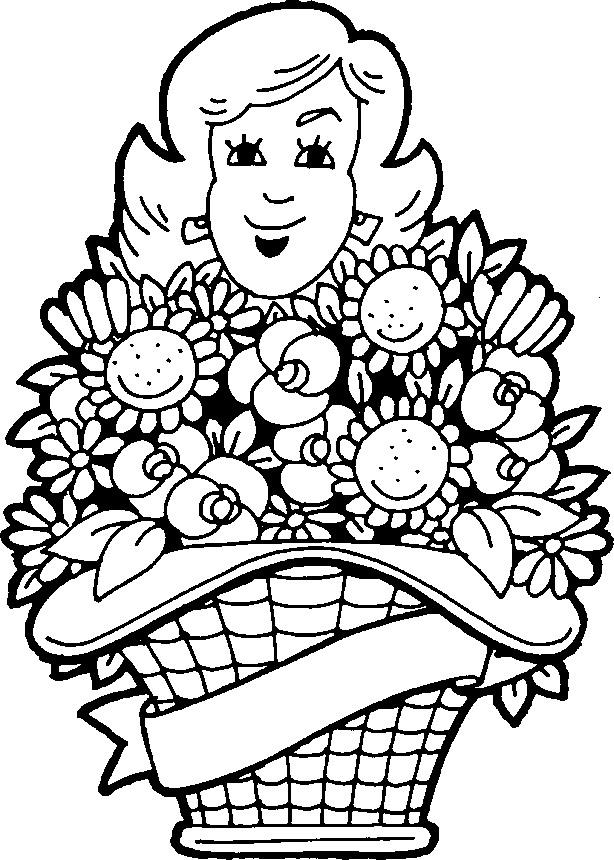 Kleurplaten Verjaardag Van Mama Archidev