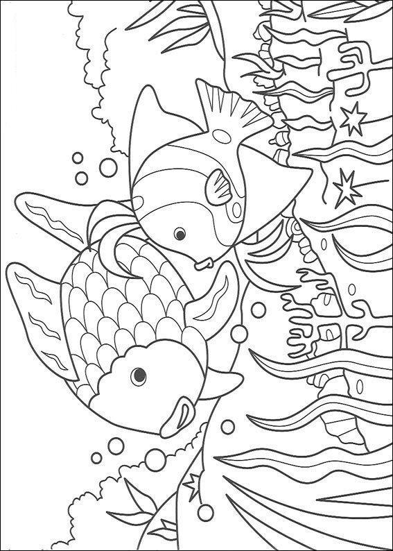 Kids N Fun 12 Kleurplaten Van Mooiste Vis Van De Zee