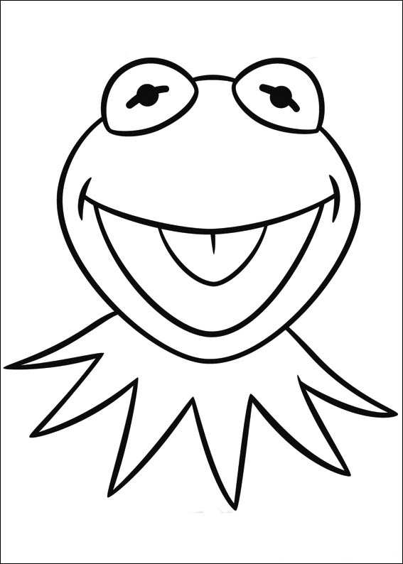 Kleurplaten Kerst For 3 Kids N Fun 25 Kleurplaten Van Muppets