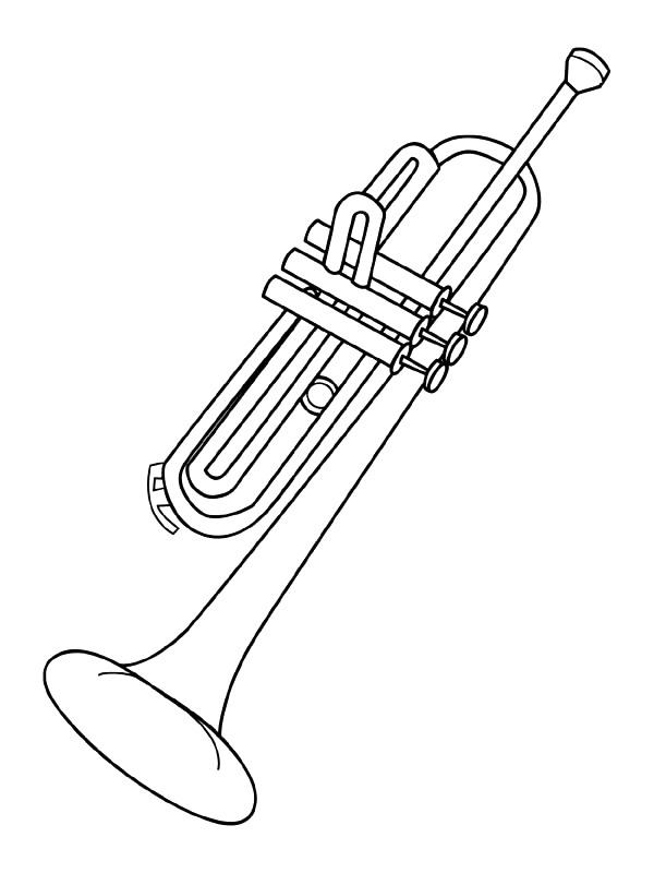 Kidsnfun Kleurplaat Muziekinstrumenten