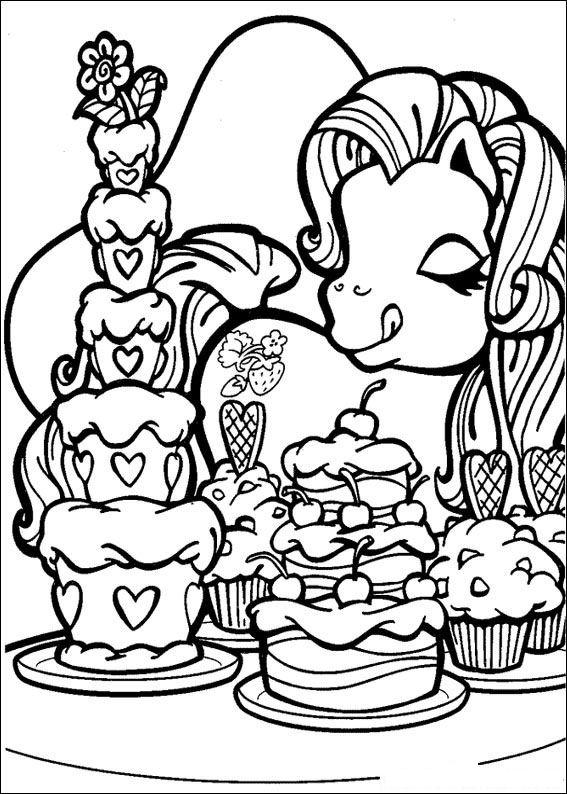 Kids N Fun 70 Kleurplaten Van My Little Pony