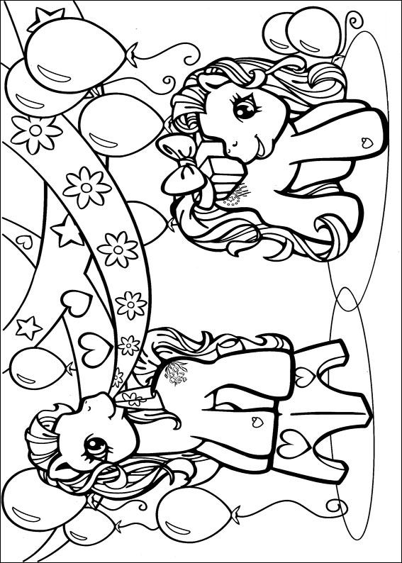 My Little Pony Coloring Pages A4 : Kids n fun kleurplaat my little pony