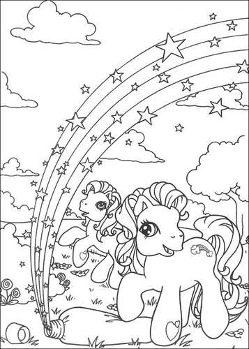 Paarden Kleurplaten Is Mijn Pony.Kids N Fun 70 Kleurplaten Van My Little Pony