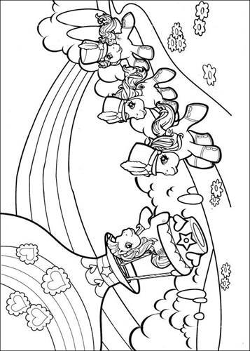 Kleurplaten My Little Pony Met Vleugels.Kids N Fun 70 Kleurplaten Van My Little Pony