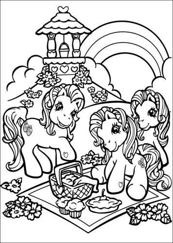 Kleurplaten Van My Little Pony.Kids N Fun 70 Kleurplaten Van My Little Pony
