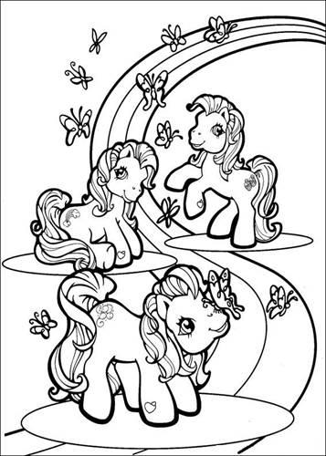 Kleurplaten Printen My Little Pony.Kids N Fun 70 Kleurplaten Van My Little Pony