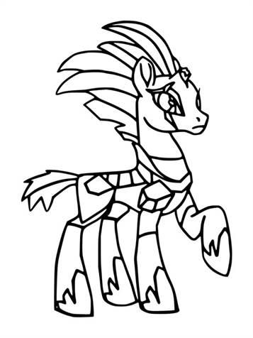 Kleurplaten My Little Pony Twilight Sparkle.Kids N Fun 12 Kleurplaten Van My Little Pony De Film