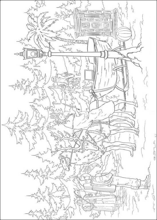 n 14 kleurplaten narnia de kronieken