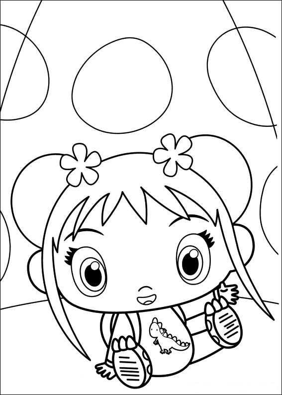 Kids N Fun 49 Kleurplaten Van Ni Hao Kai Lan