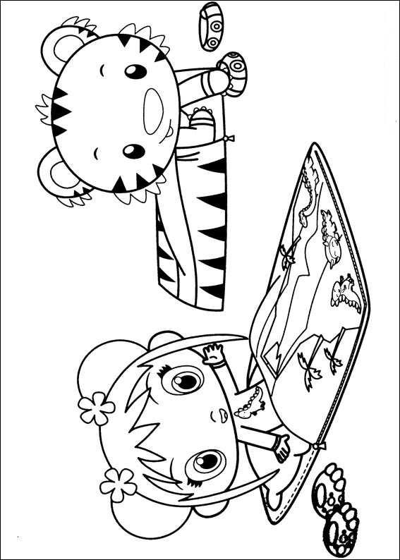 Kids n fun kleurplaat ni hao kai lan ni hao kai lan for Kai lan coloring pages