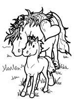 Paarden In De Stal Kleurplaten Kids N Fun 63 Kleurplaten Van Paarden