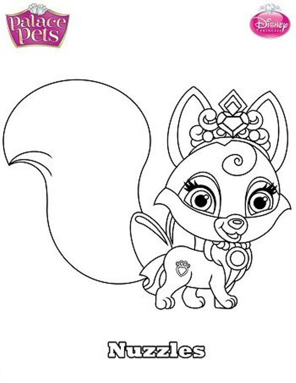 Kids N Fun 36 Kleurplaten Van Prinses Palace Pets