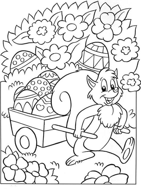 Kids N Fun 78 Kleurplaten Van Pasen