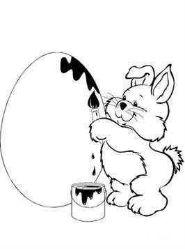 Kleurplaten Pasen Eieren.Kids N Fun 78 Kleurplaten Van Pasen