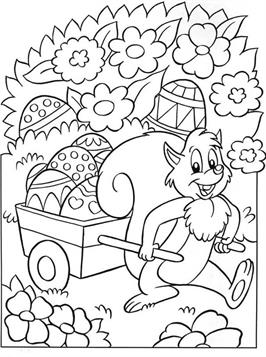 Kleurplaten Peuters Pasen.Kids N Fun 78 Kleurplaten Van Pasen