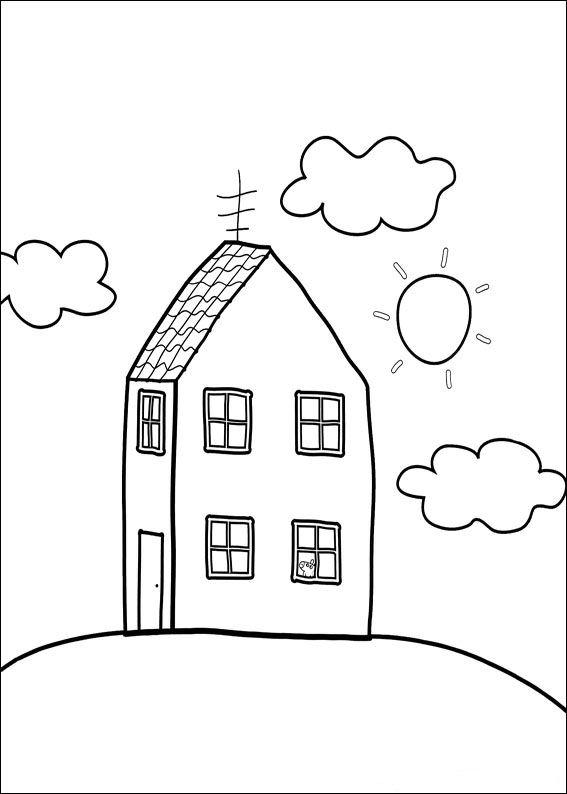 Peppa Pig Kleurplaat Kerst Kids N Fun 20 Kleurplaten Van Peppa De Big