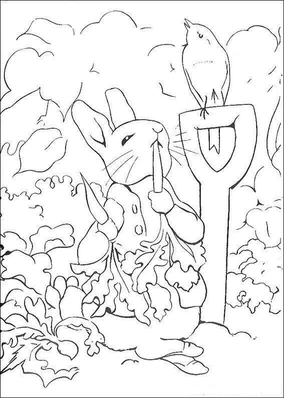 kleurplaten pieter konijn