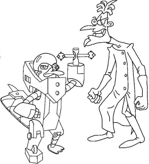 Kleurplaten Phineas Ferb Uitprinten.Kleurplaten Van Phineas En Ferb Kids N Fun Kleurplaat Phineas En