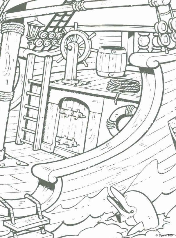 Kids N Fun 35 Kleurplaten Van Piet Piraat