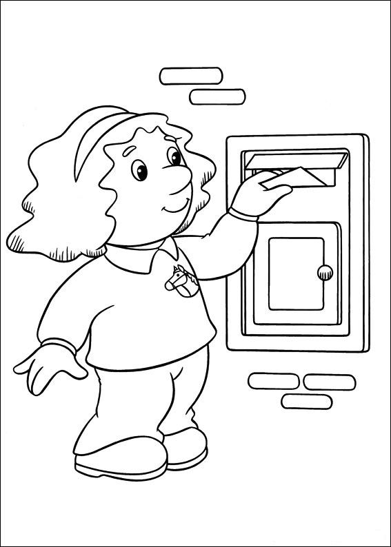 Kids N Fun 31 Kleurplaten Van Pieter Post