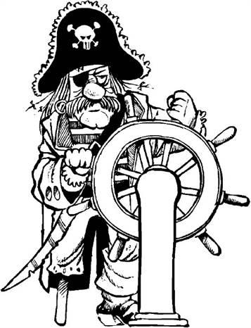 Kleurplaten Piratenschip.Kids N Fun 31 Kleurplaten Van Piraten