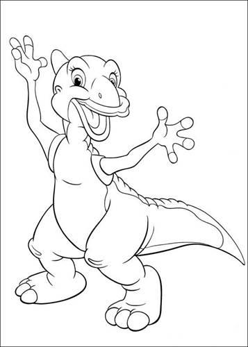Dino Kleurplaten Platvoet.Kids N Fun 26 Kleurplaten Van Platvoet En Zijn Vriendjes