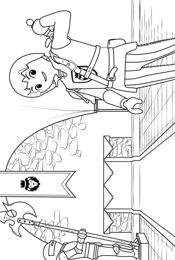 Valentijn Paarden Kleurplaat Kids N Fun 8 Kleurplaten Van Playmobil Super 4