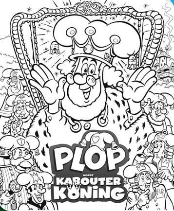 Kleurplaten Studio 100 Plop.Kids N Fun 1 Kleurplaten Van Plop Wordt Kabouterkoning