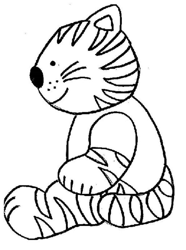 n kleurplaat poezen en katten poezen en katten