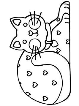 Kleurplaten Van Honden En Katten.Kids N Fun 68 Kleurplaten Van Poezen En Katten