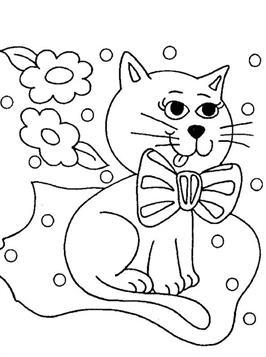 Kleurplaten Baby Poezen.Kids N Fun 68 Kleurplaten Van Poezen En Katten