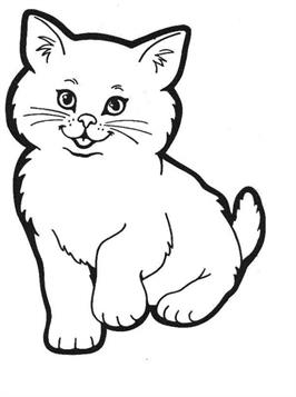 Kleurplaten Poezen En Honden Samen.Kids N Fun 68 Kleurplaten Van Poezen En Katten